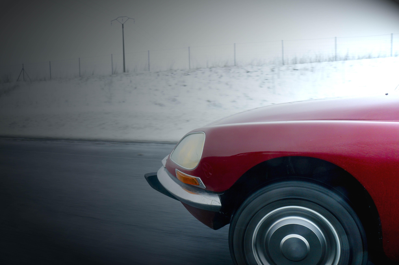 Neus DS in de sneeuw